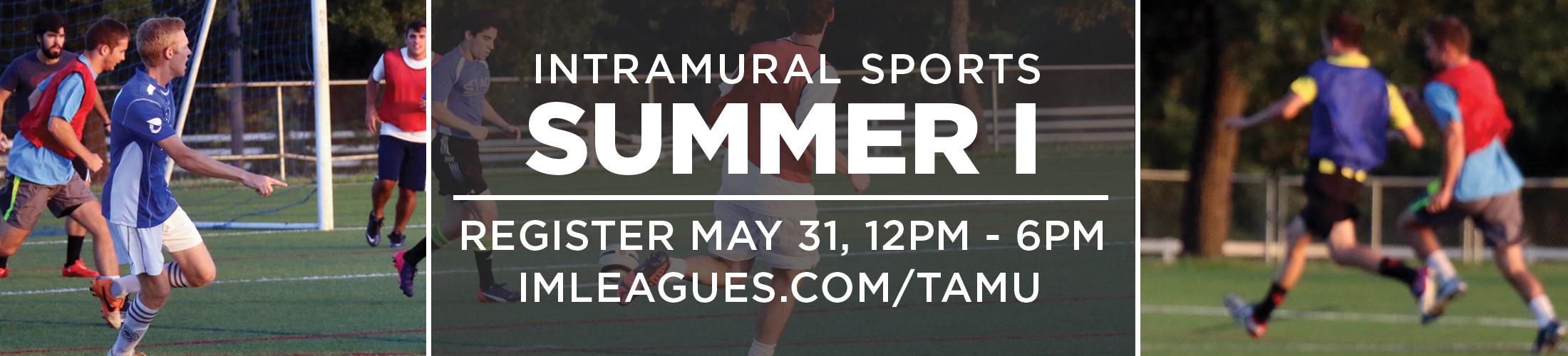 Texas A&M Intramural Sports Summer 1 2016